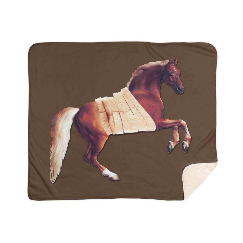 Thoroughbread Home Blanket by Thomas Orrow
