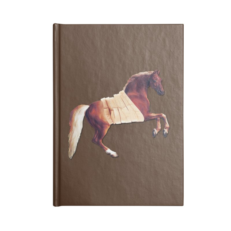 Thoroughbread Accessories Blank Journal Notebook by Thomas Orrow