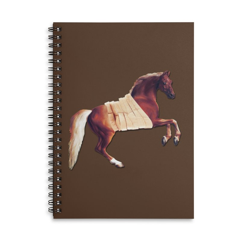 Thoroughbread Accessories Lined Spiral Notebook by Thomas Orrow
