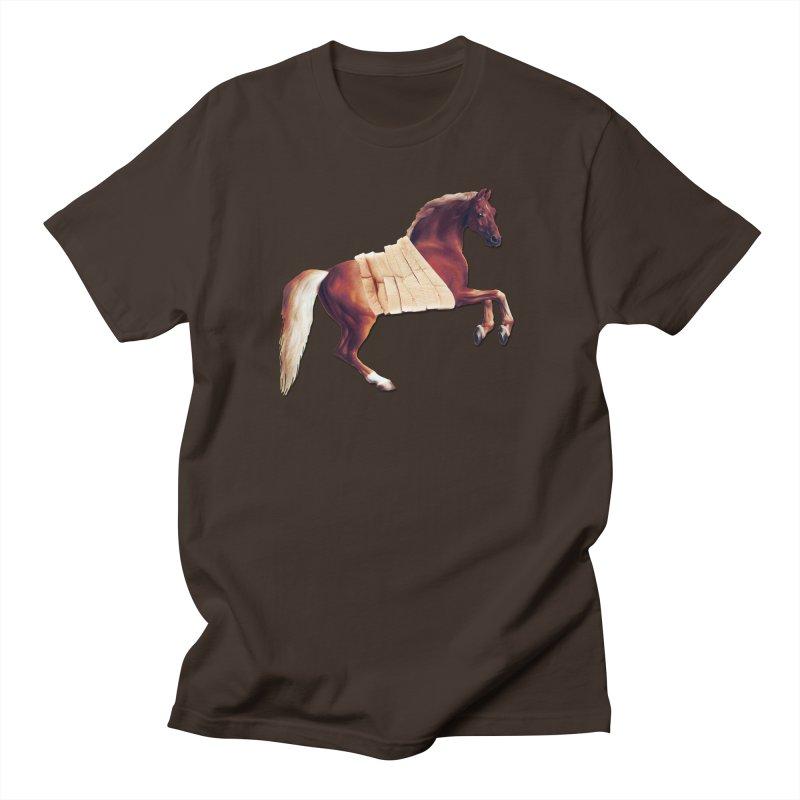 Thoroughbread Men's Regular T-Shirt by Thomas Orrow