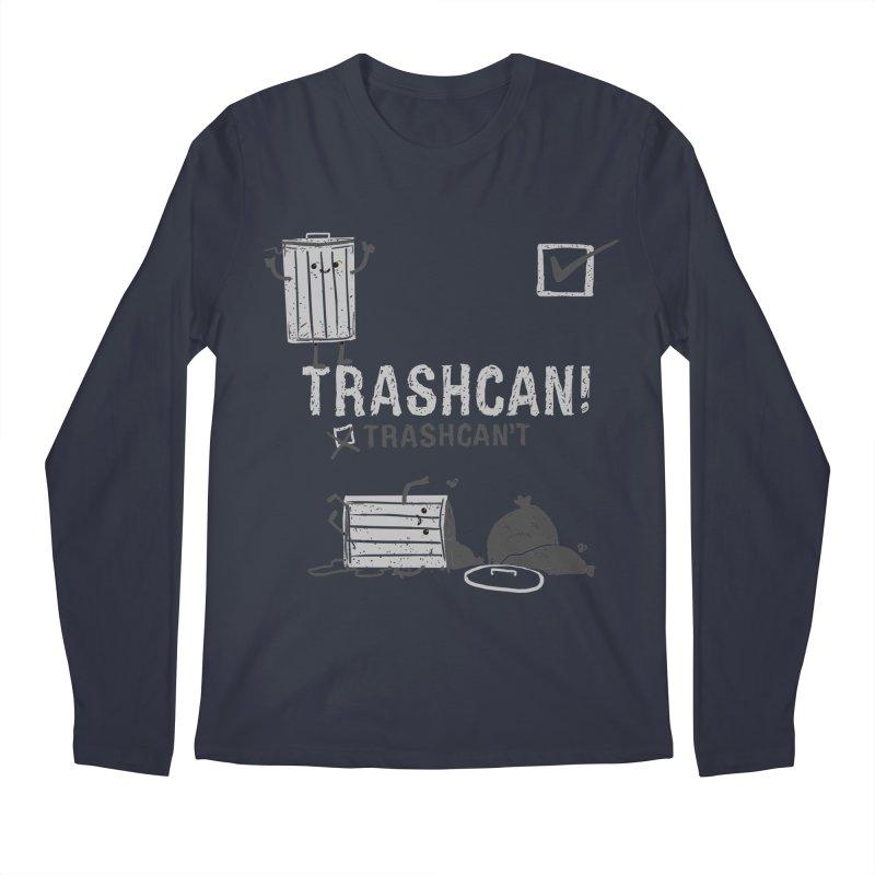 Trashcan! Trashcan't Men's Regular Longsleeve T-Shirt by Thomas Orrow