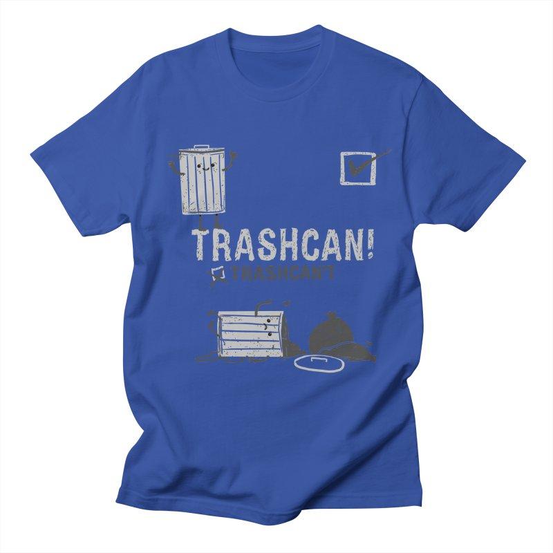 Trashcan! Trashcan't Men's Regular T-Shirt by Thomas Orrow