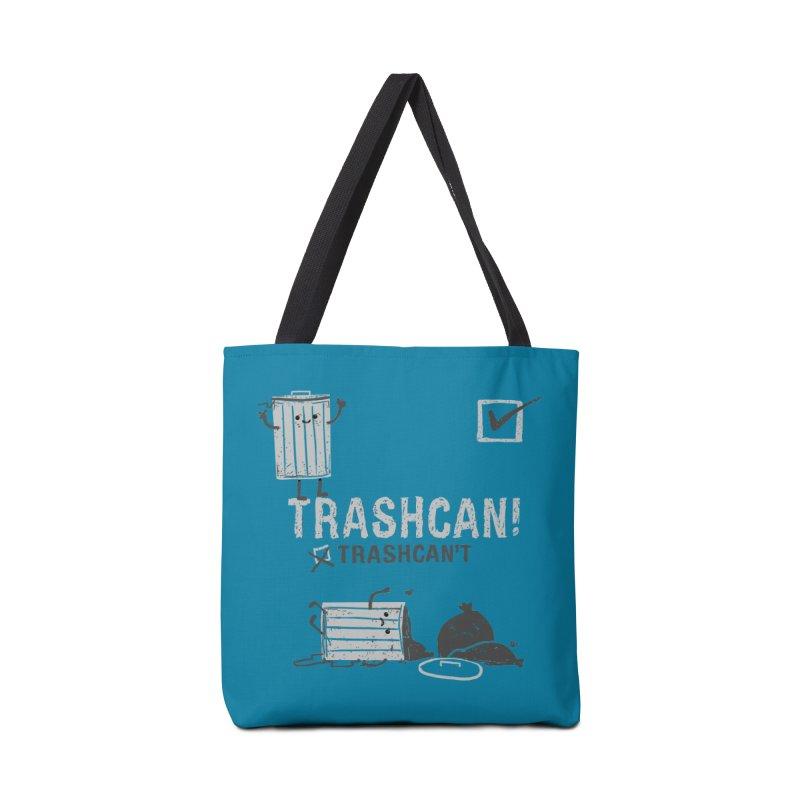 Trashcan! Trashcan't Accessories Tote Bag Bag by Thomas Orrow