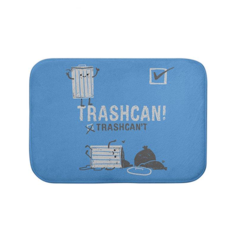 Trashcan! Trashcan't Home Bath Mat by Thomas Orrow