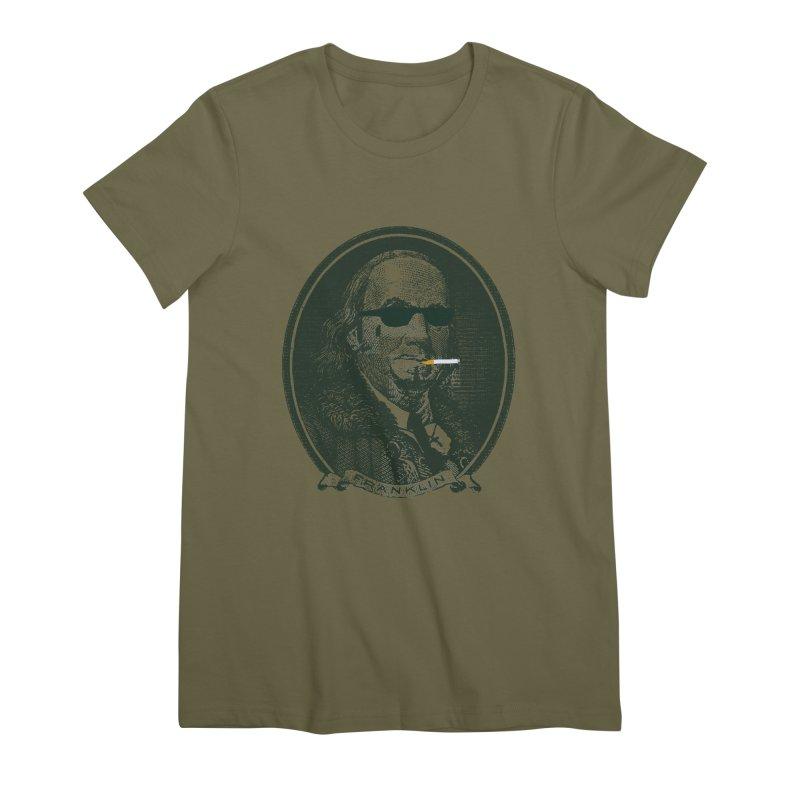 All About Da Benjamins Women's Premium T-Shirt by Thomas Orrow