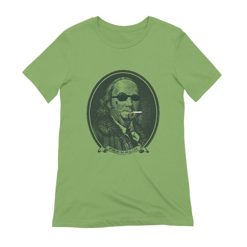 All About Da Benjamins Women's Extra Soft T-Shirt by Thomas Orrow