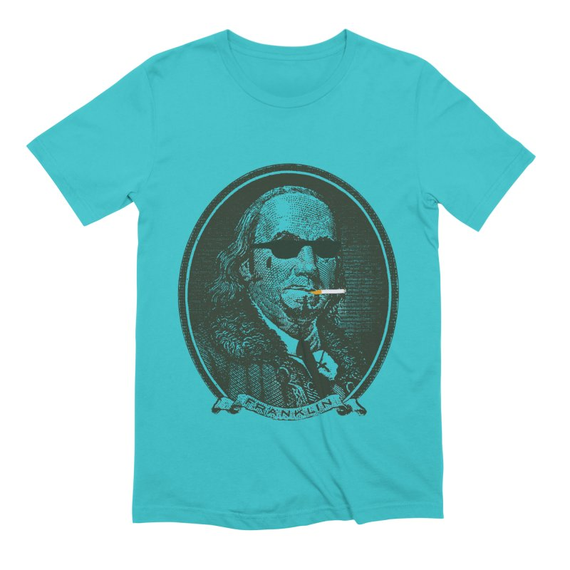 All About Da Benjamins Men's Extra Soft T-Shirt by Thomas Orrow