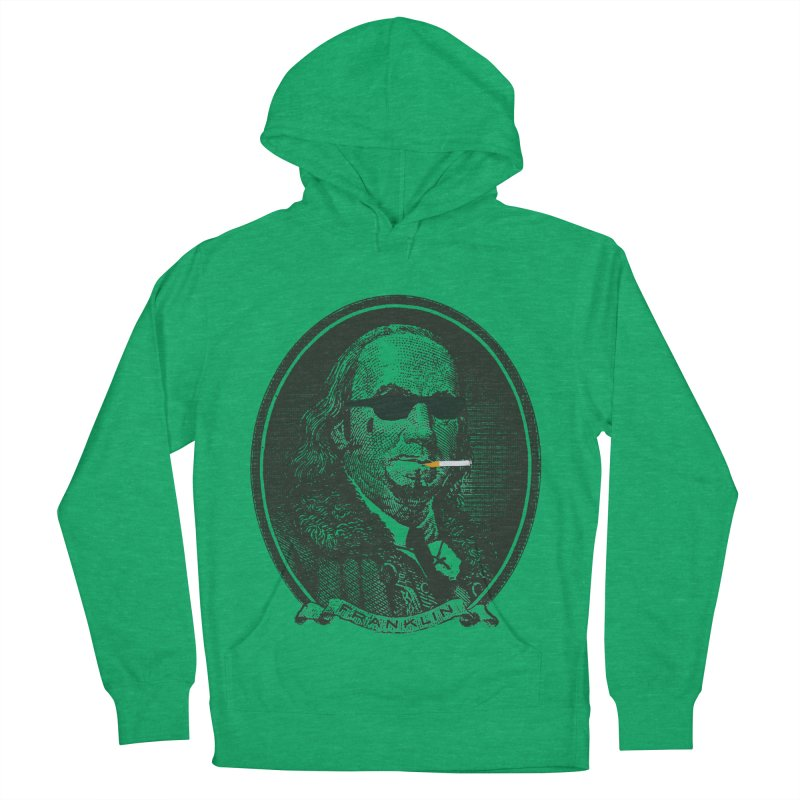 All About Da Benjamins Men's French Terry Pullover Hoody by Thomas Orrow