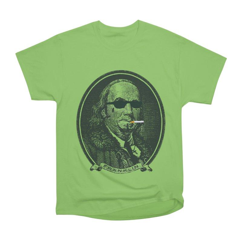 All About Da Benjamins Men's Heavyweight T-Shirt by Thomas Orrow