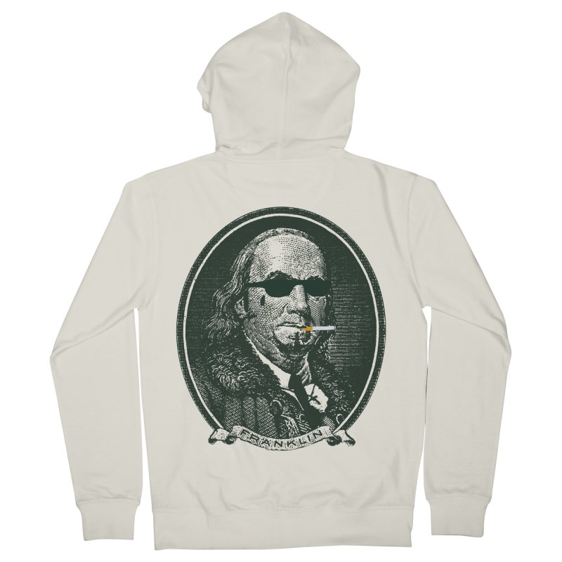 All About Da Benjamins Women's French Terry Zip-Up Hoody by Thomas Orrow