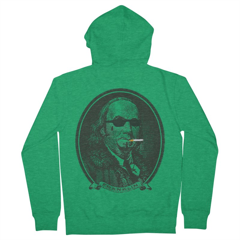 All About Da Benjamins Men's French Terry Zip-Up Hoody by Thomas Orrow