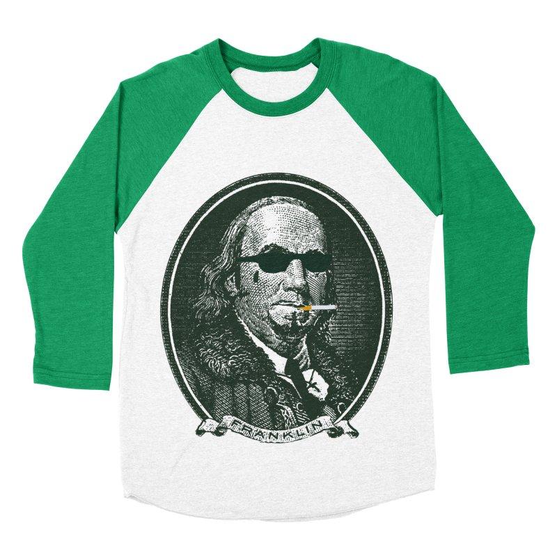 All About Da Benjamins Men's Baseball Triblend Longsleeve T-Shirt by Thomas Orrow