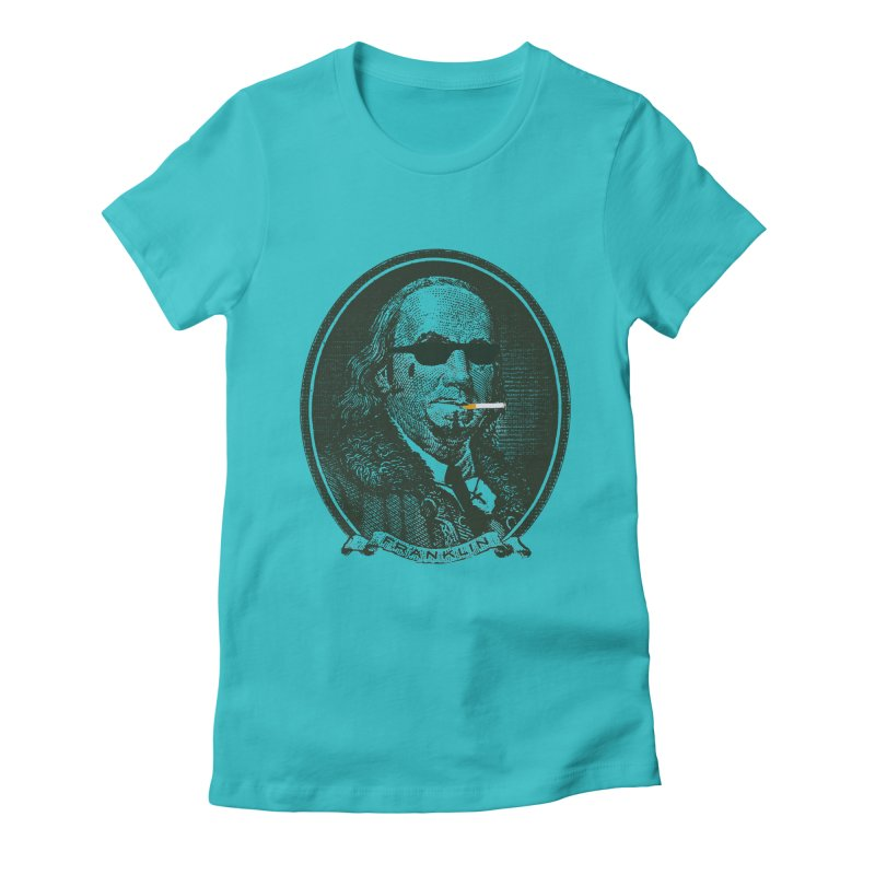 All About Da Benjamins Women's Fitted T-Shirt by Thomas Orrow