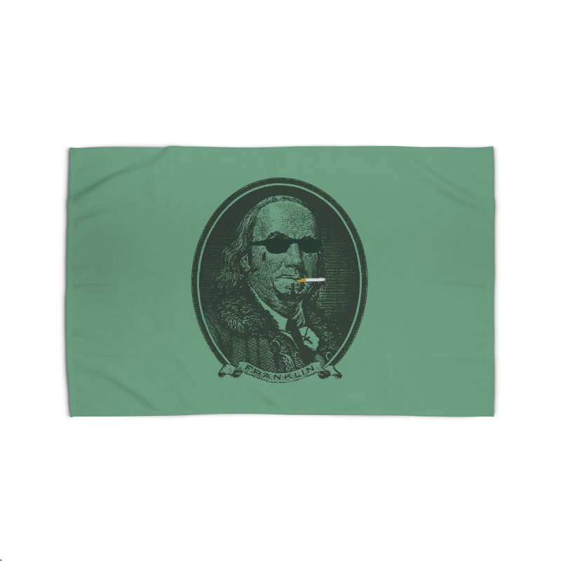 All About Da Benjamins Home Rug by Thomas Orrow