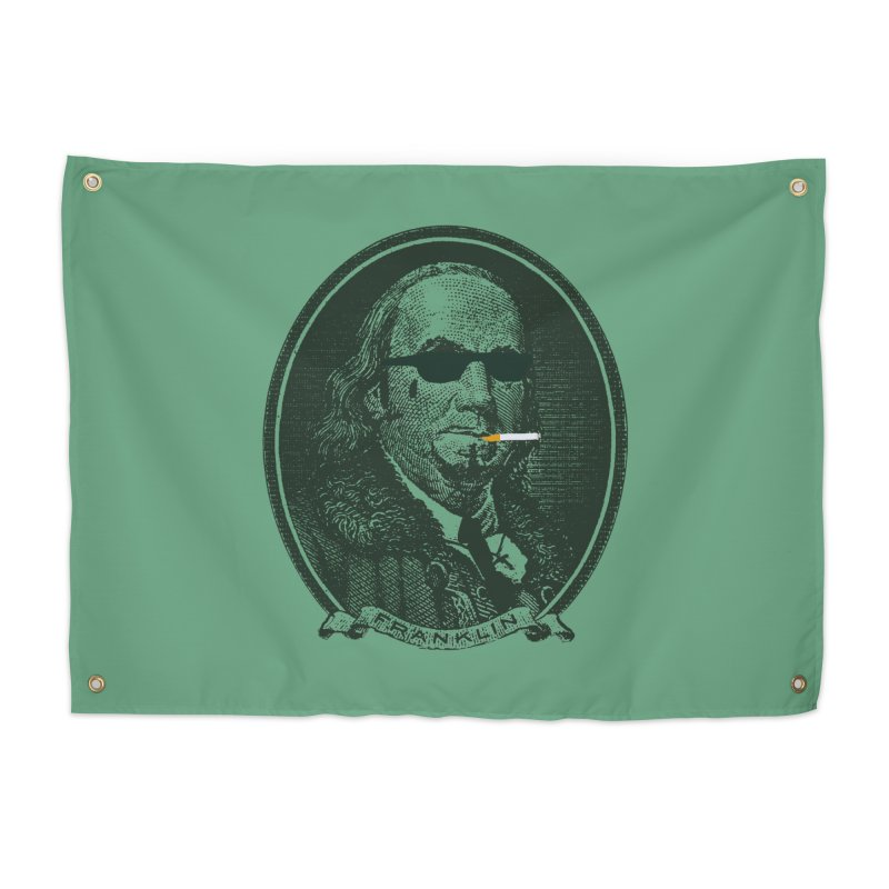All About Da Benjamins Home Tapestry by Thomas Orrow