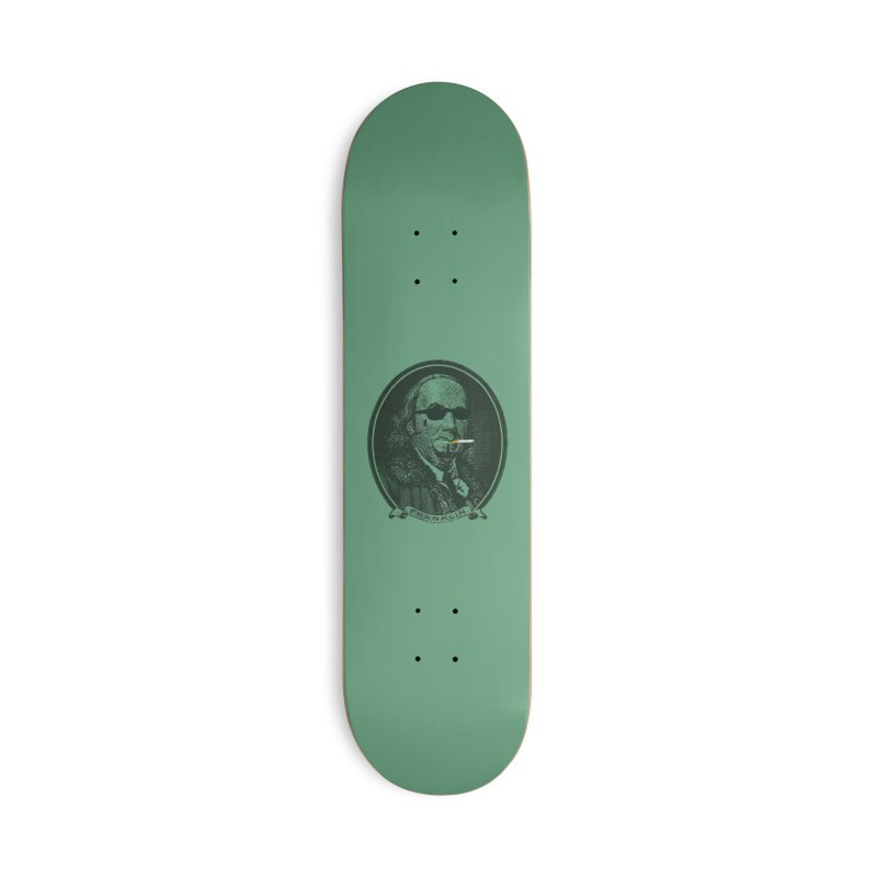 All About Da Benjamins Accessories Deck Only Skateboard by Thomas Orrow