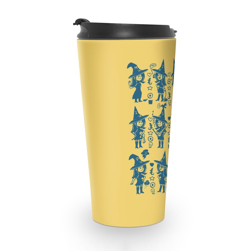 She Cast a Spell On Me Accessories Travel Mug by Thomas Orrow