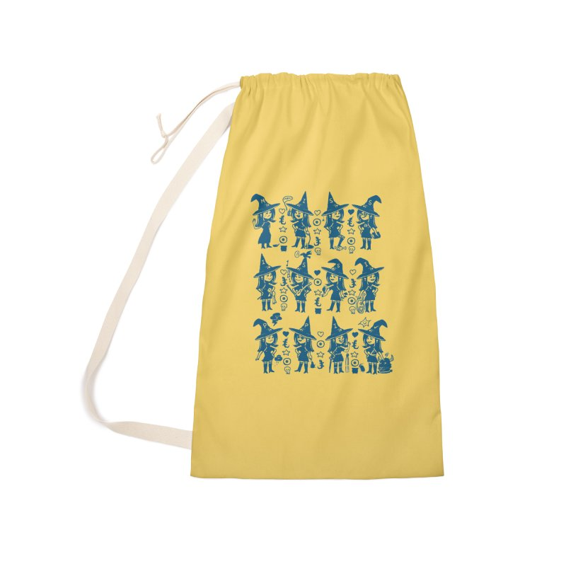She Cast a Spell On Me Accessories Laundry Bag Bag by Thomas Orrow