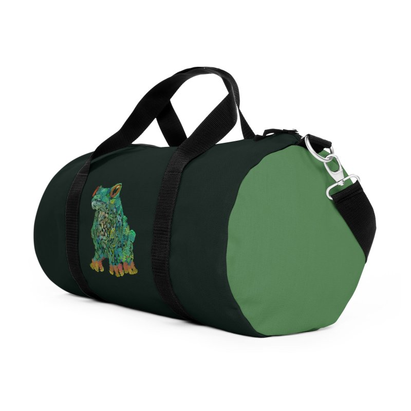 Amazon Tree Frog Accessories Duffel Bag Bag by Thomas Orrow