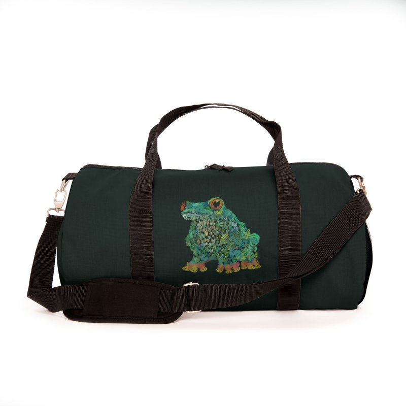 Amazon Tree Frog Accessories Bag by Thomas Orrow