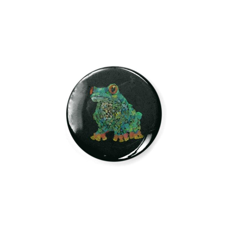 Amazon Tree Frog Accessories Button by Thomas Orrow