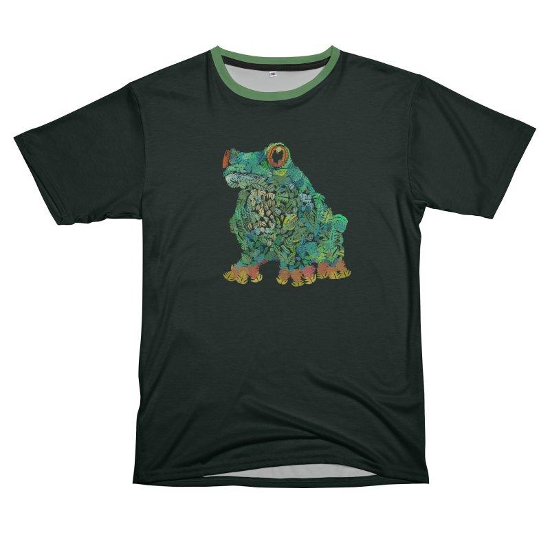 Amazon Tree Frog Women's Unisex T-Shirt Cut & Sew by Thomas Orrow