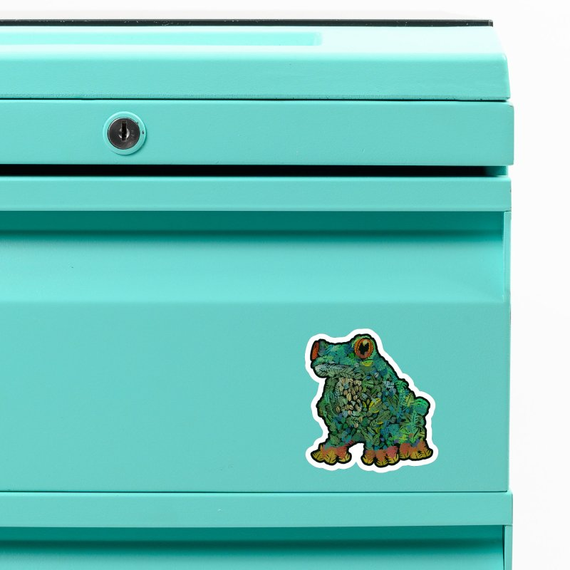 Amazon Tree Frog Accessories Magnet by Thomas Orrow
