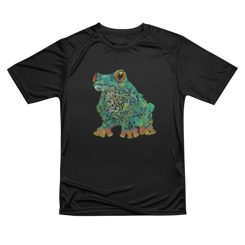 Amazon Tree Frog Men's Performance T-Shirt by Thomas Orrow