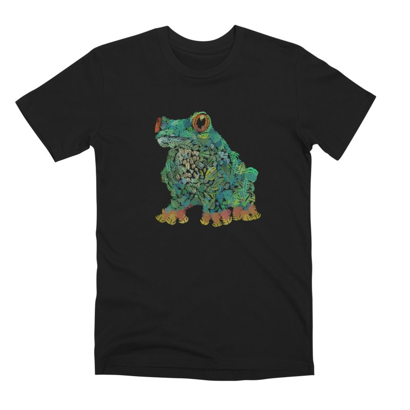 Amazon Tree Frog Men's Premium T-Shirt by Thomas Orrow