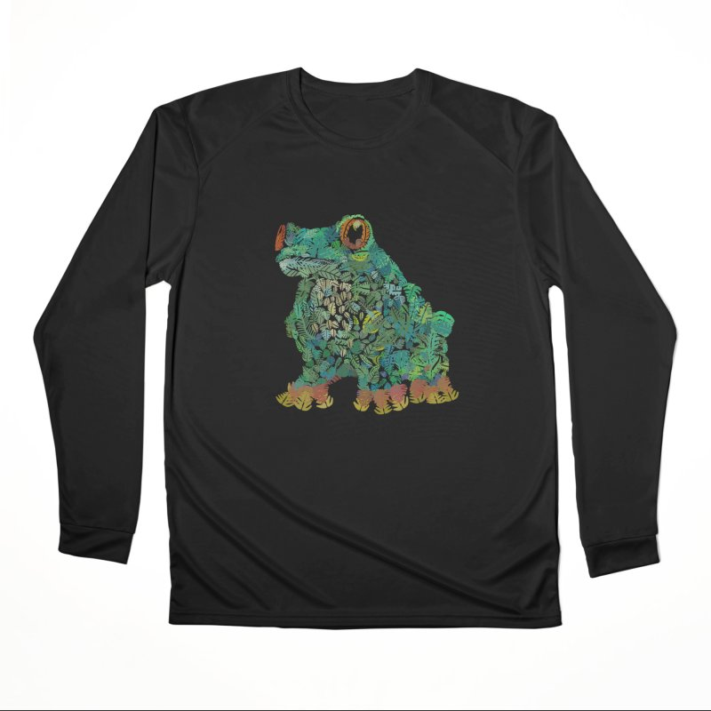 Amazon Tree Frog Women's Performance Unisex Longsleeve T-Shirt by Thomas Orrow