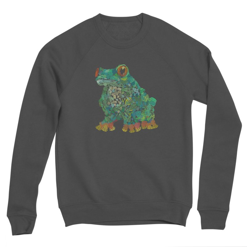Amazon Tree Frog Men's Sponge Fleece Sweatshirt by Thomas Orrow