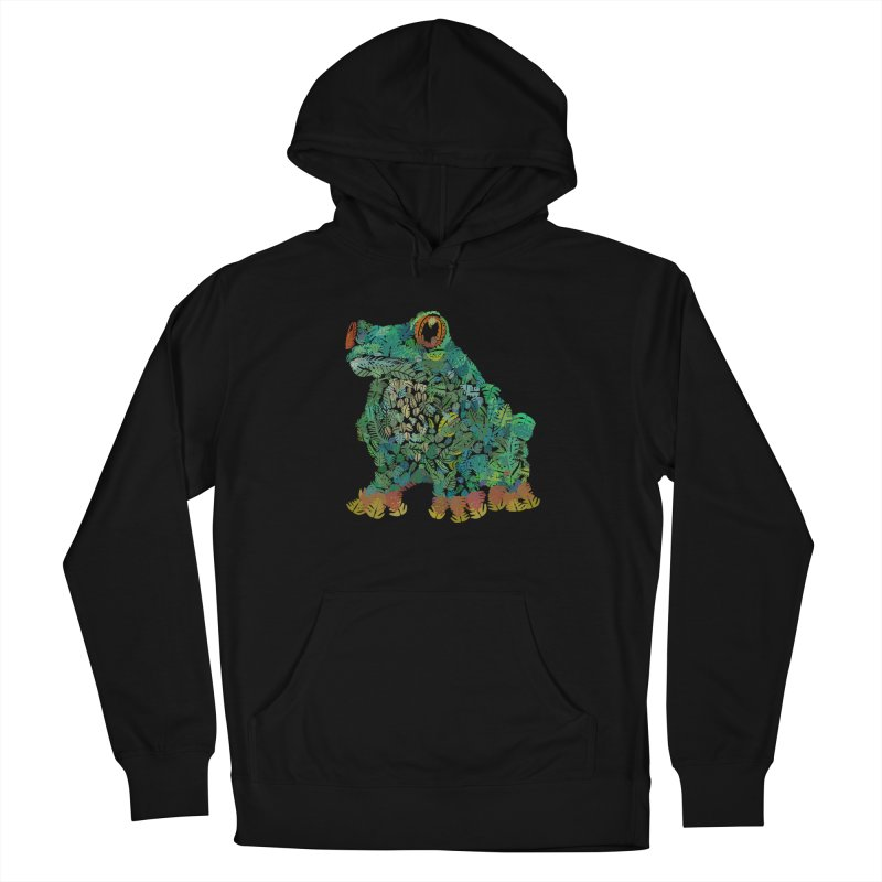 Amazon Tree Frog Men's French Terry Pullover Hoody by Thomas Orrow