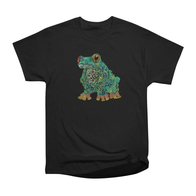 Amazon Tree Frog Men's Heavyweight T-Shirt by Thomas Orrow