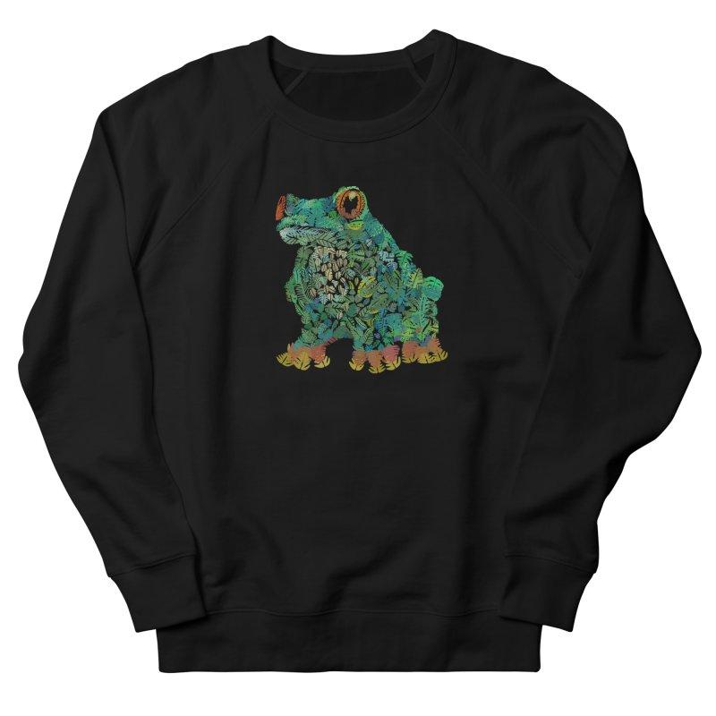 Amazon Tree Frog Men's French Terry Sweatshirt by Thomas Orrow
