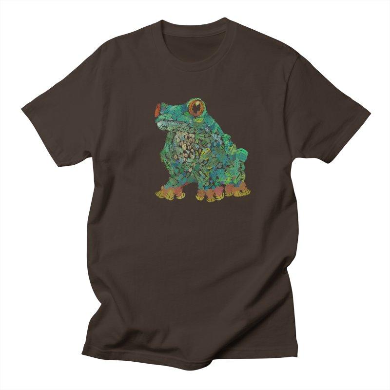 Amazon Tree Frog Men's Regular T-Shirt by Thomas Orrow