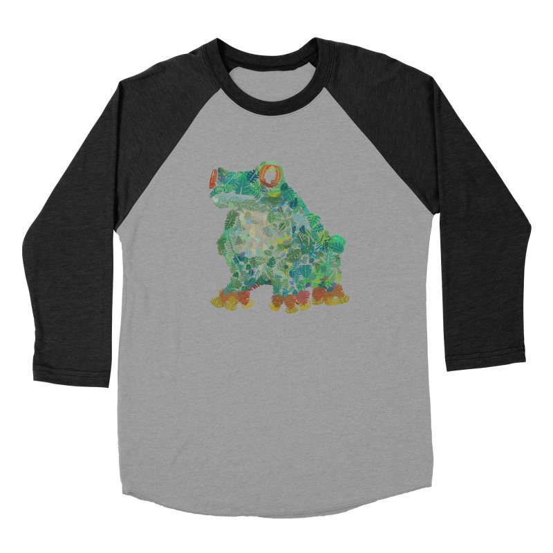 Amazon Tree Frog Women's Baseball Triblend Longsleeve T-Shirt by Thomas Orrow