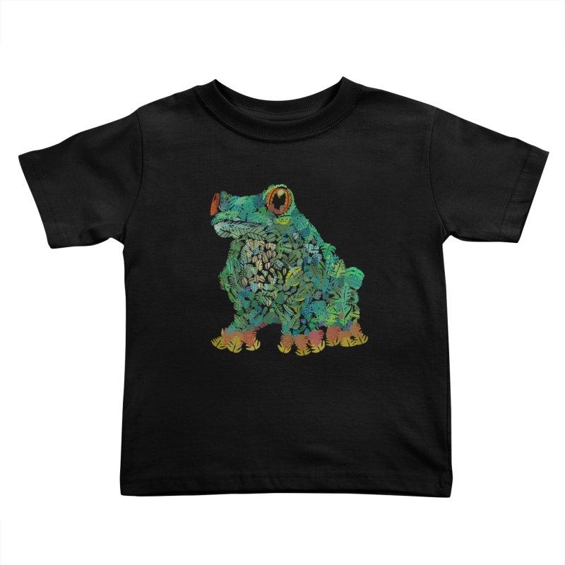 Amazon Tree Frog Kids Toddler T-Shirt by Thomas Orrow