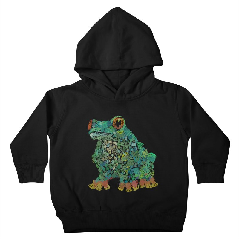 Amazon Tree Frog Kids Toddler Pullover Hoody by Thomas Orrow