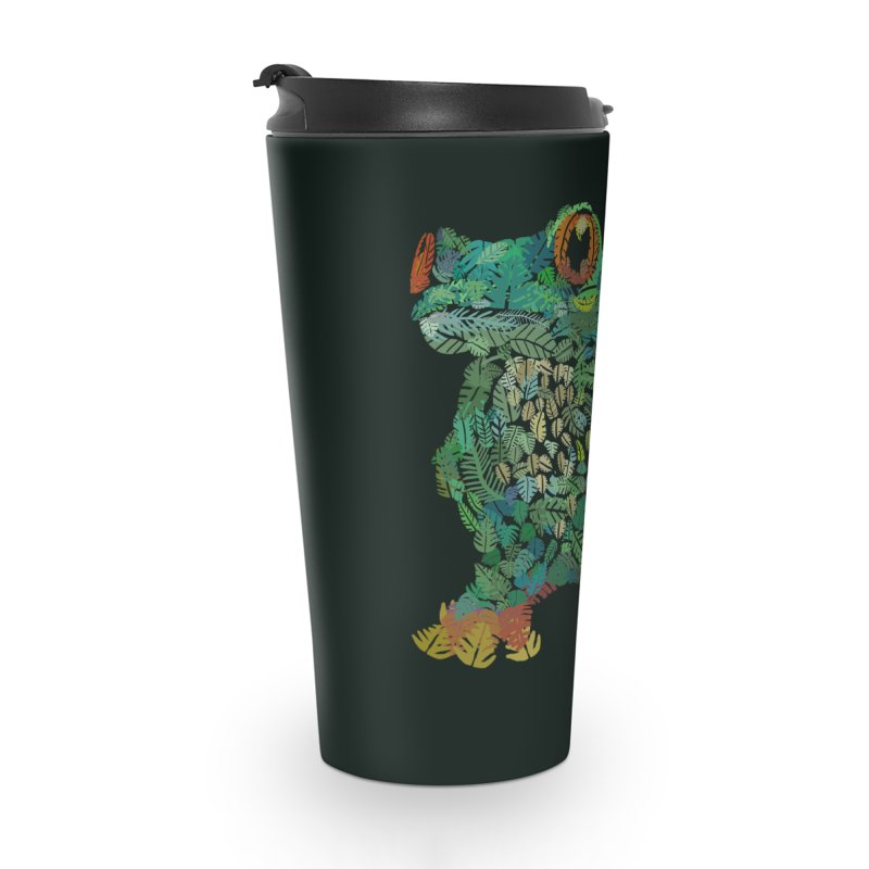 Amazon Tree Frog Accessories Travel Mug by Thomas Orrow
