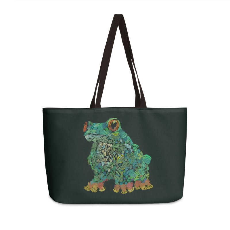 Amazon Tree Frog Accessories Weekender Bag Bag by Thomas Orrow