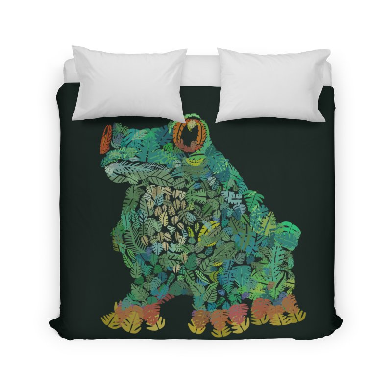 Amazon Tree Frog Home Duvet by Thomas Orrow