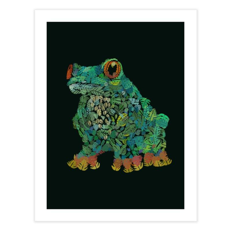 Amazon Tree Frog Home Fine Art Print by Thomas Orrow