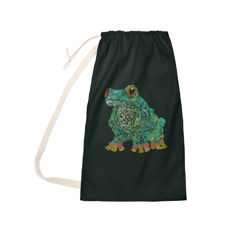 Amazon Tree Frog Accessories Laundry Bag Bag by Thomas Orrow