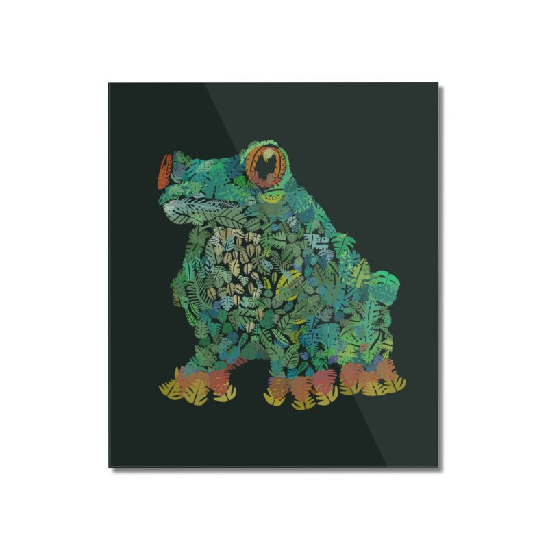 Amazon Tree Frog Home Mounted Acrylic Print by Thomas Orrow