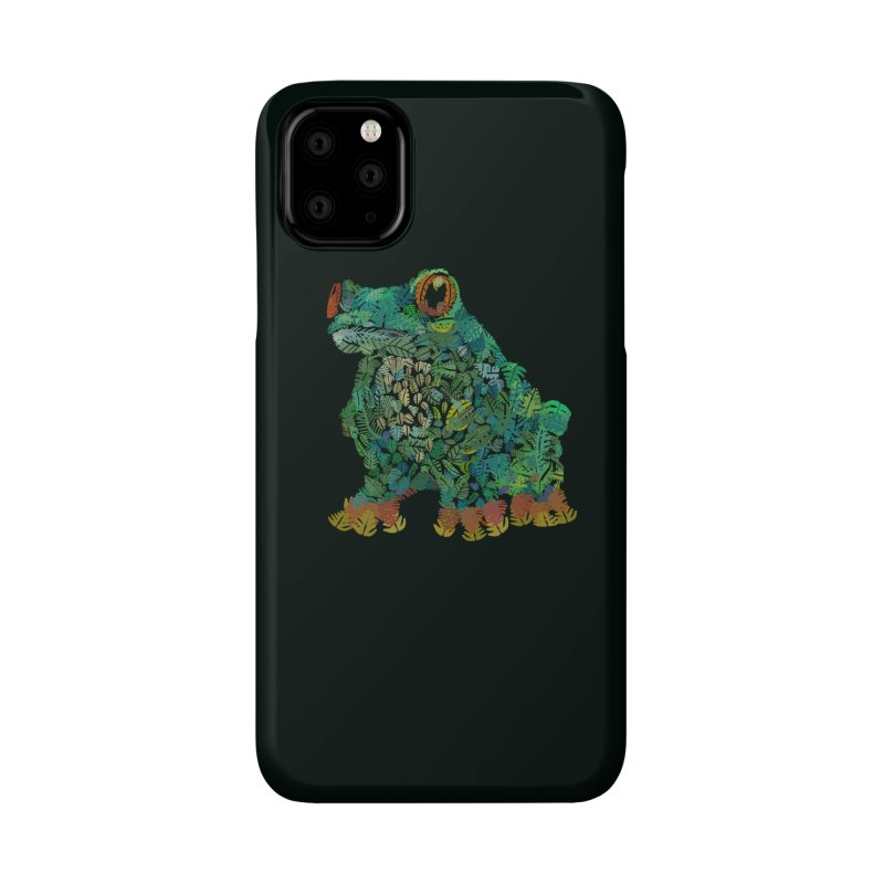 Amazon Tree Frog Accessories Phone Case by Thomas Orrow