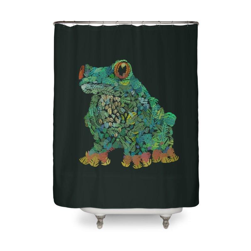 Amazon Tree Frog Home Shower Curtain by Thomas Orrow