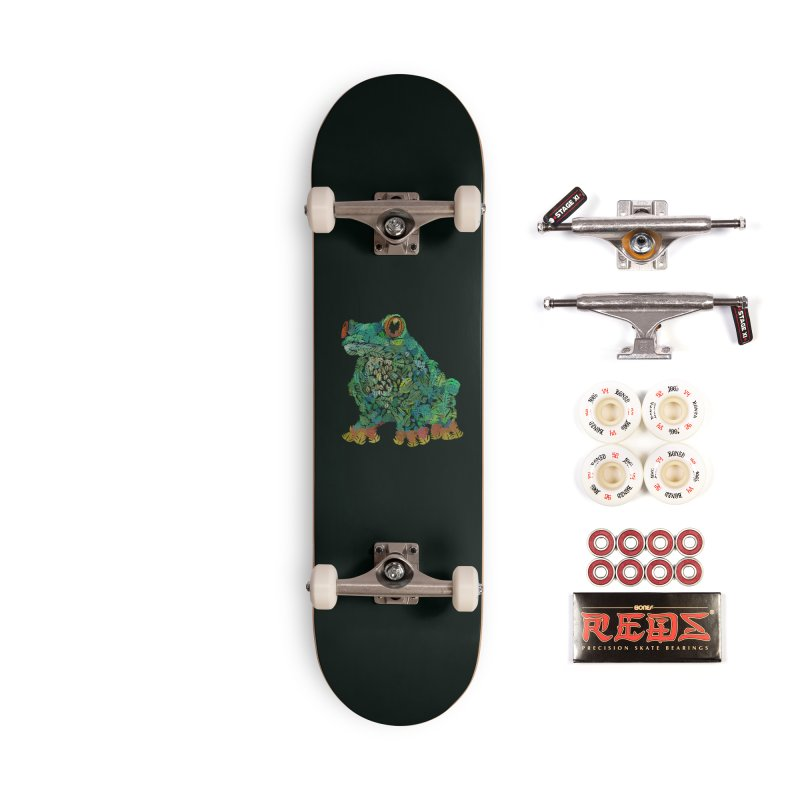 Amazon Tree Frog Accessories Complete - Pro Skateboard by Thomas Orrow