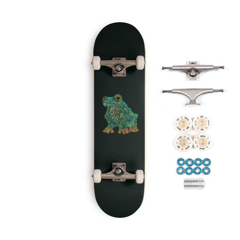 Amazon Tree Frog Accessories Complete - Premium Skateboard by Thomas Orrow