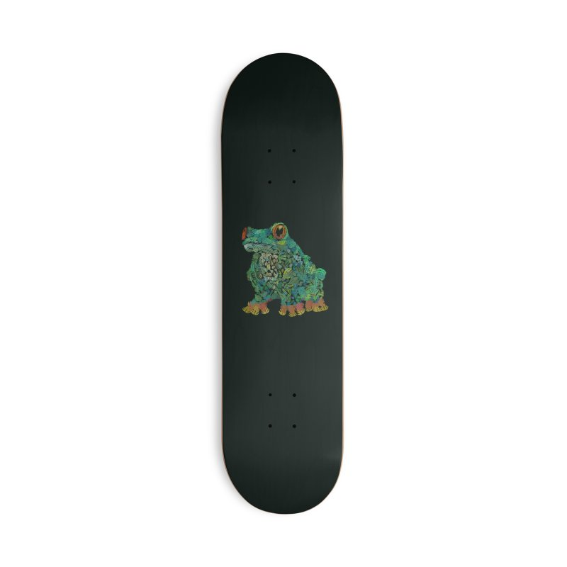 Amazon Tree Frog Accessories Deck Only Skateboard by Thomas Orrow