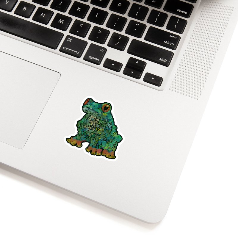 Amazon Tree Frog Accessories Sticker by Thomas Orrow